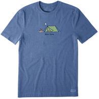 Life is Good Men's Man Cave Vintage Crusher Short-Sleeve T-Shirt