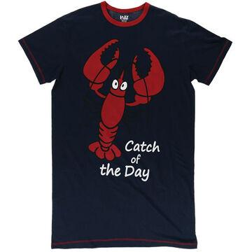 Lazy One Womens Lobster Nightshirt