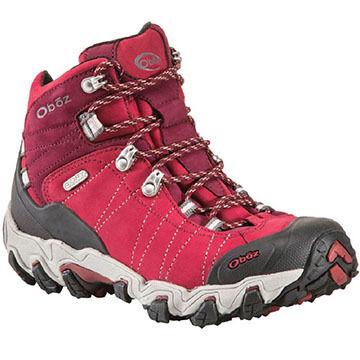 Oboz Womens Bridger Waterproof Mid Hiking Boot