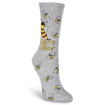 K. Bell Womens Queen Bee Crew Sock