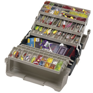 Plano Large 6-Tray Tackle Box