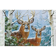 Pumpernickel Press Whitetail Winter Deluxe Boxed Greeting Cards