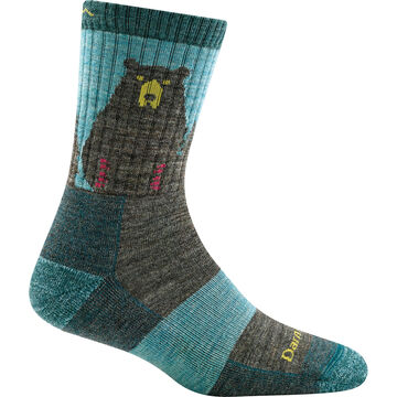 Darn Tough Vermont Womens Bear Town Micro Crew Light Cushion Sock