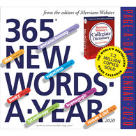 365 New Words-A-Year 2020 Page-A-Day Calendar by Merriam-Webster