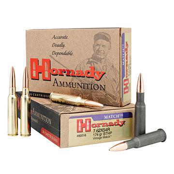 Hornady Vintage Match 30-06 Springfield 168 Grain A-Max BT Rifle Ammo (20)