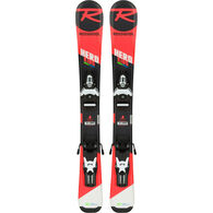 Rossignol Children's Hero Jr. Team 4 Premount Alpine Ski w/ Bindings