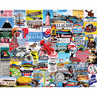 White Mountain Jigsaw Puzzle - I Love Maine