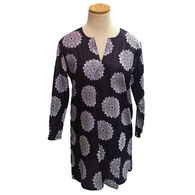 KikiSol Women's Moroccan Long-Sleeve Tunic Cover Up