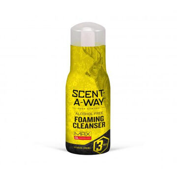 Hunters Specialties Scent-A-Way MAX Odorless Foaming Cleanser - 8 oz.