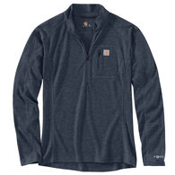 Carhartt Men's Base Force Heavyweight Poly-Wool Quarter-Zip Base Layer Top