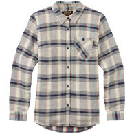 Burton Women's Grace Sherpa Flannel Long-Sleeve Shirt