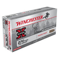 Winchester Super-X 270 WSM 150 Grain Power-Point Rifle Ammo (20)