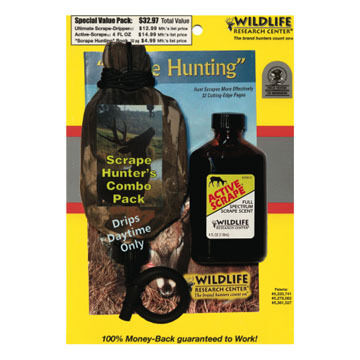Wildlife Research Center Scrape Hunters Combo Pack