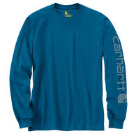 Carhartt Men's Graphic Logo Long-Sleeve T-Shirt