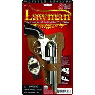 Parris Manufacturing Lawman Toy Pistol & Holster Set