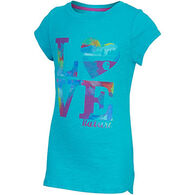 Carhartt Girls' Love Nature Cotton Slub Short-Sleeve T-Shirt