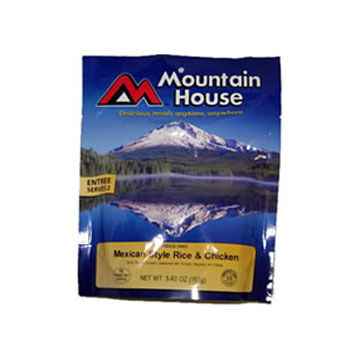 Mountain House Mexican-Style Chicken w/ Rice - 2 Servings