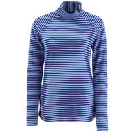 White Sierra Women's Sierra Ridge Stripe Long-Sleeve T-Neck Shirt