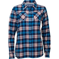 Ski The East Women's Canopy Flannel Long-Sleeve Shirt