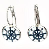 Eye Catching Jewelry Women's Ship's Wheel Earring