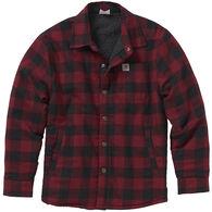 Carhartt Boy's Flannel Lined Long-Sleeve Shirt Jac