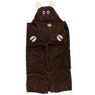 Lazy One Kids Moose Critter Hooded Blanket