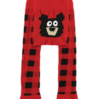 Lazy One Infant Bear Plaid Legging