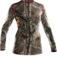 Under Armour Women's Heat Gear EVO Camo Long-Sleeve T-Shirt