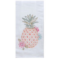 Kay Dee Designs Summer Fun Pineapple Embroidered Flour Sack Towel