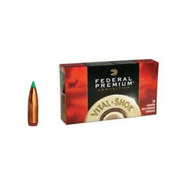 Federal Premium Vital-Shok 7mm-08 Remington 140 Grain Nosler Ballistic Tip Rifle Ammo (20)