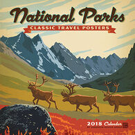 National Parks Classic Posters 2018 Wall Calendar by Anderson Design Group