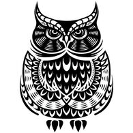 Sticker Cabana Owl Sticker