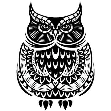 Sticker Cabana Owl Sticker
