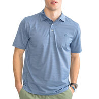 Southern Tide Men's Coki Beach Space Dyed BRRR Performance Polo Short-Sleeve Shirt