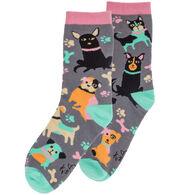 Karma Women's Dog Crew Sock