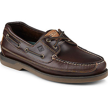 Sperry Mens Mako 2-Eye Canoe Moc Boat Shoe