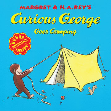 Curious George Goes Camping by H. A. Rey