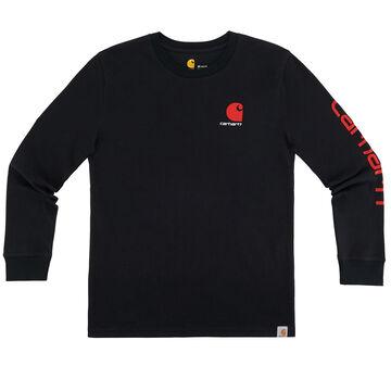 Carhartt Boys Carhartt Logo Long-Sleeve T-Shirt