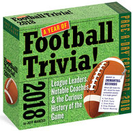 A Year of Football Trivia! 2018 Page-A-Day Calendar by Jeff Marcus
