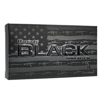 Hornady Black 308 Winchester 155 Grain A-Max Rifle Ammo (20)