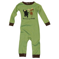 Lazy One Infant Boys' Born To Be Wild Unionsuit
