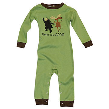 Lazy One Infant Boys Born To Be Wild Unionsuit