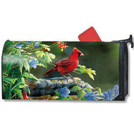 MailWraps Cardinal Perch Magnetic Mailbox Cover