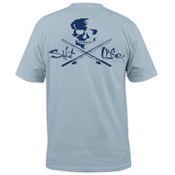 Salt Life Men's Skull & Poles Pocket Short-Sleeve T-Shirt