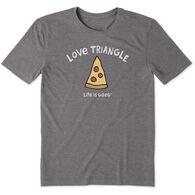 Life is Good Men's Love Triangle Cool Tee Short-Sleeve T-Shirt