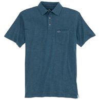 Fish Hippie Men's Barco Slub Polo Short-Sleeve Shirt