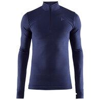 Craft Sportswear Men's Fuseknit Comfort Zip-Neck Baselayer Long-Sleeve Top