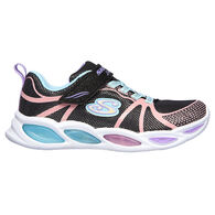 Skechers Girls' S Lights: Shimmer Beams - Sporty Glow Athletic Shoe