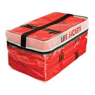 Onyx Type II Adult Life Jacket Four Pack w/ Bag