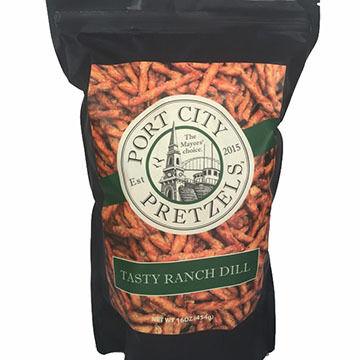 Port City Pretzels Tasty Ranch & Dill Pretzels, 16 oz.